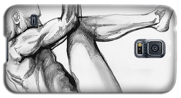 Nude Male 1 Galaxy S5 Case