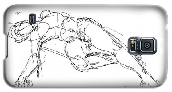 Nude Male Drawings 1 Galaxy S5 Case by Gordon Punt