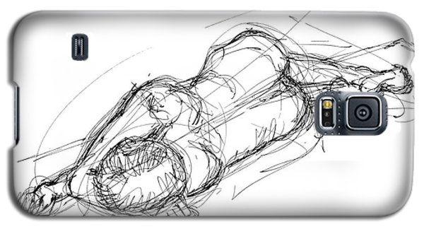 Nude Male Sketches 4 Galaxy S5 Case