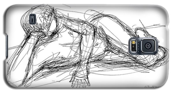 Nude Male Sketches 5 Galaxy S5 Case
