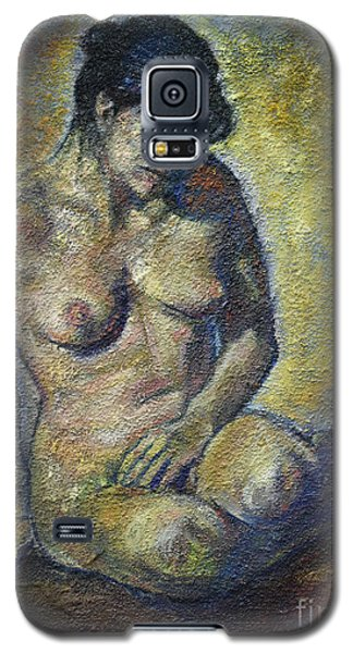 Sad - Nude Woman Galaxy S5 Case