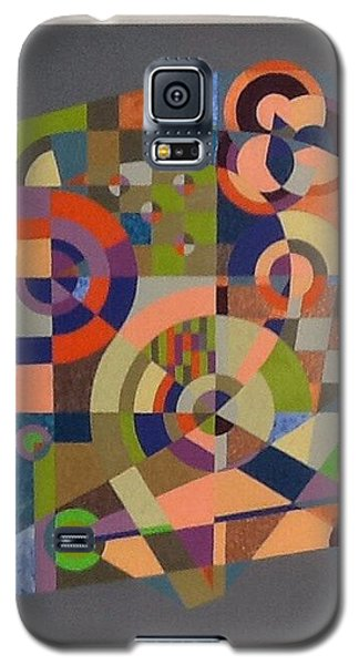 Galaxy S5 Case featuring the painting Number 2 by Hang Ho
