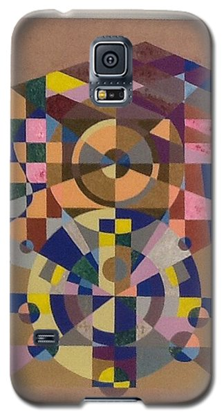 Galaxy S5 Case featuring the painting Number 8 by Hang Ho