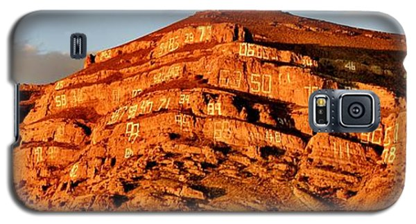 Galaxy S5 Case featuring the photograph Number Hill by Benjamin Yeager