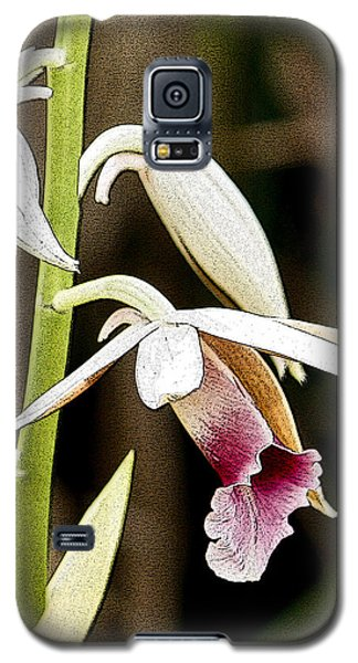 Nun's Orchid Galaxy S5 Case