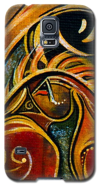 Nurturer Spirit Eye Galaxy S5 Case by Deborha Kerr