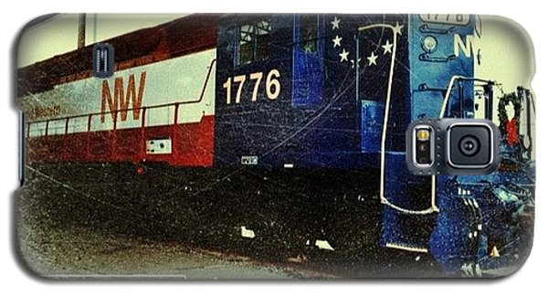 Transportation Galaxy S5 Case - Nw Locomotive #1776 #phonto #altphoto by Teresa Mucha