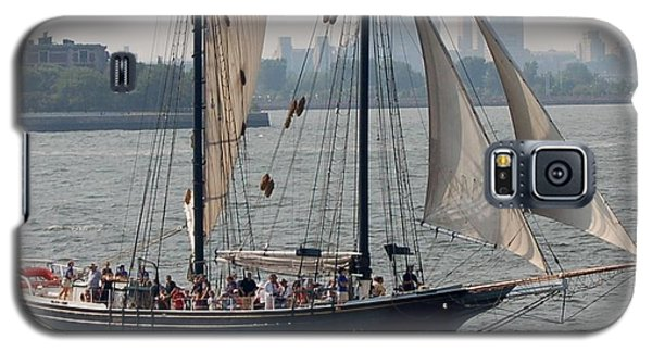 Ny Harbor Schooner Galaxy S5 Case