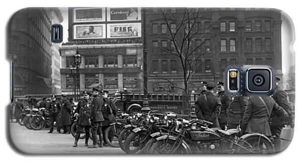 Ny Motorcycle Police Galaxy S5 Case