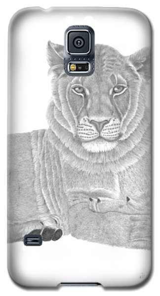 Nyah The Lioness Galaxy S5 Case
