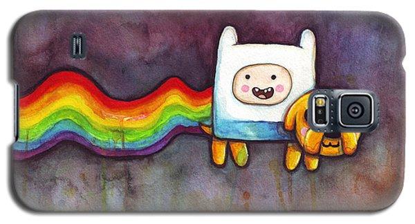 Nyan Time Galaxy S5 Case by Olga Shvartsur