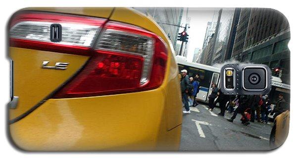 Robert Smith Music Galaxy S5 Case - Nyc Cab by TSB Art Gallery Dennis Thompson Jr Curator Photographer