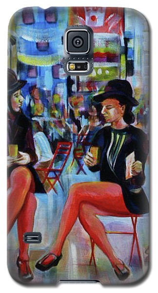 Nyc Red Chairs Galaxy S5 Case
