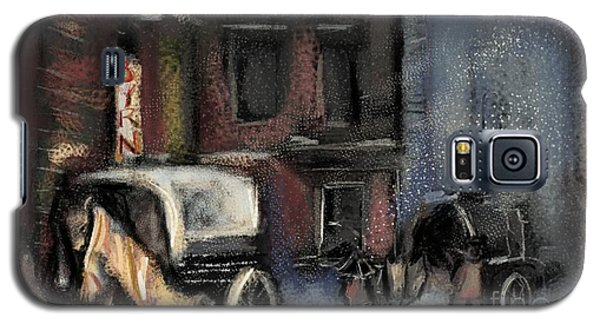 Nyc Snow 1910 Galaxy S5 Case