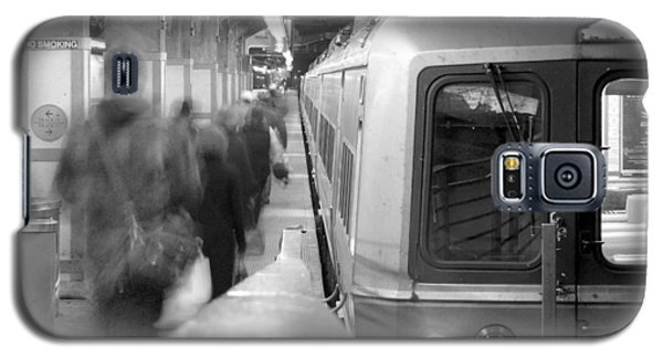 Metro North/ct Dot Commuter Train Galaxy S5 Case by Mike McGlothlen