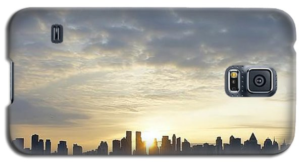 Nyc Sunrise Panorama Galaxy S5 Case
