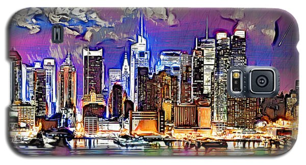 Galaxy S5 Case featuring the digital art Nyc - Wallpaper by Daniel Janda
