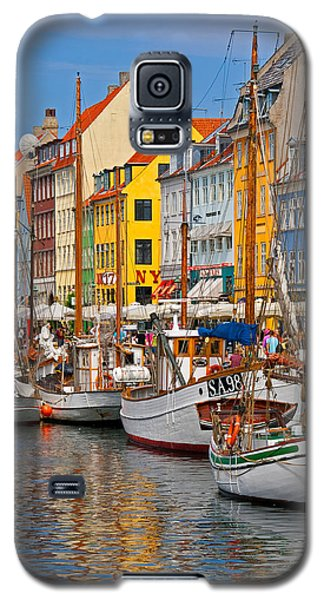 Nyhavn Sailboats Galaxy S5 Case