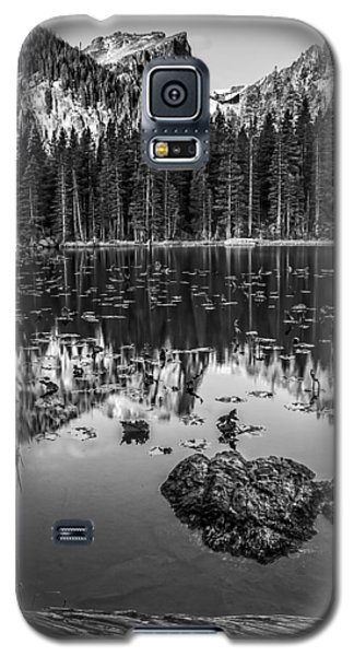 Nymph Lake Sunrise Black And White Galaxy S5 Case