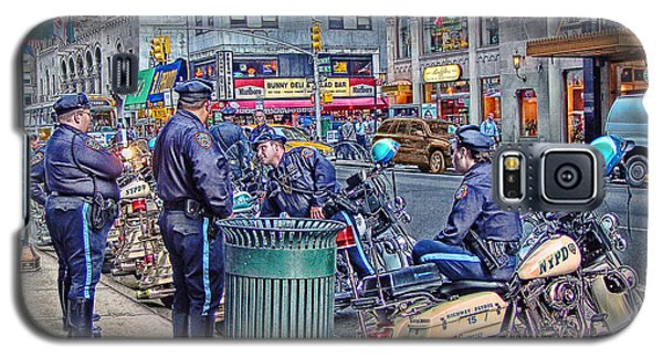Nypd Highway Patrol Galaxy S5 Case by Ron Shoshani