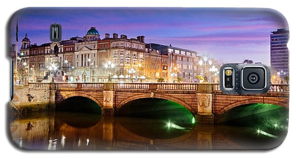 O Connell Bridge At Night - Dublin Galaxy S5 Case