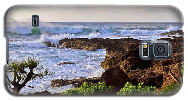 Galaxy S5 Case featuring the photograph Oahu's Northshore by Gina Savage
