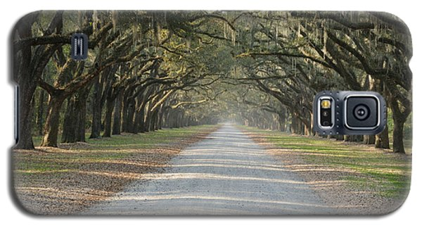 Galaxy S5 Case featuring the photograph Oak Avenue by Bradford Martin