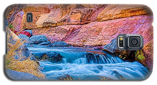 Oak Creek In The Spring Galaxy S5 Case