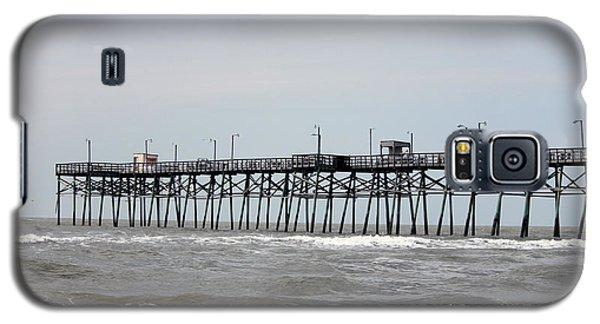 Oak Island Beach Pier Galaxy S5 Case