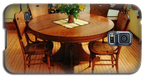 Oak Table And Chairs Galaxy S5 Case