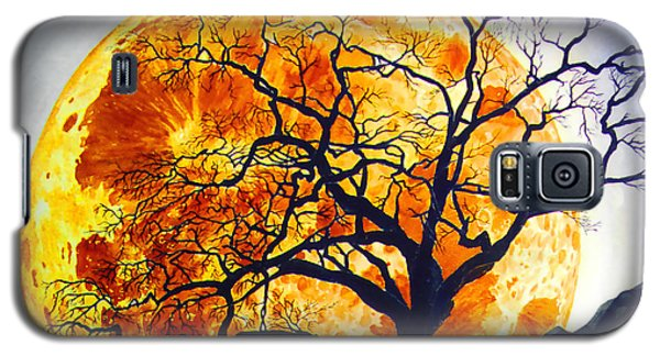 Oak Tree Moonrise Galaxy S5 Case