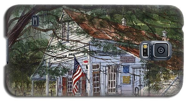 Galaxy S5 Case featuring the painting Oakland Plantation Store by Tim Oliver