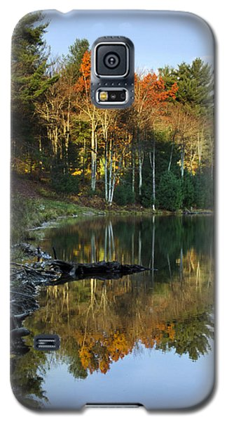 Galaxy S5 Case featuring the photograph Oakley Corners State Forest by Christina Rollo