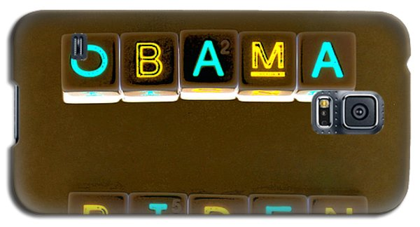 Obama Biden Words. Galaxy S5 Case by Oscar Williams