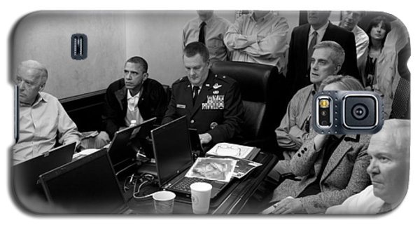 Obama In White House Situation Room Galaxy S5 Case