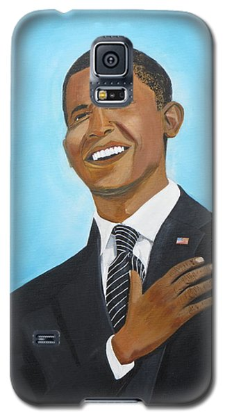 Obama's First Inauguration Galaxy S5 Case