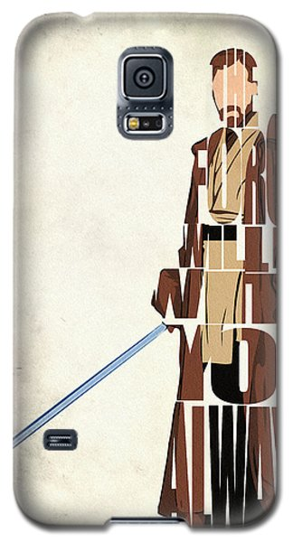 Obi-wan Kenobi - Ewan Mcgregor Galaxy S5 Case by Ayse Deniz