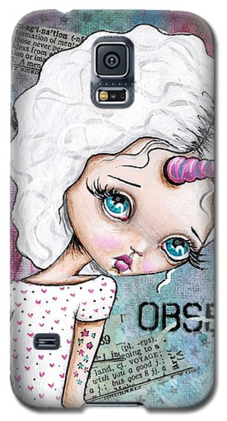 Observation Galaxy S5 Case by Lizzy Love of Oddball Art Co