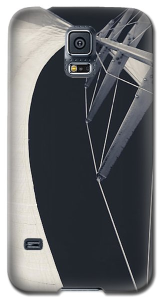 Obsession Sails 9 Black And White Galaxy S5 Case
