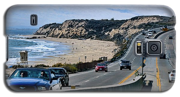 Oc On Pch In Ca Galaxy S5 Case by Jennie Breeze