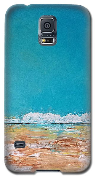 Galaxy S5 Case featuring the painting Ocean 2 by Diana Bursztein