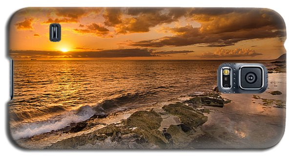 Ocean And Sunset Galaxy S5 Case