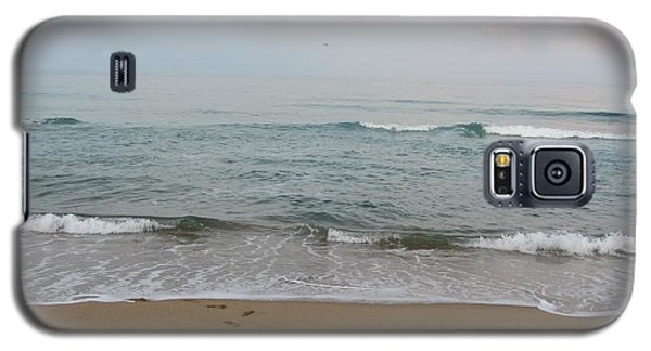 Ocean At Buxton Nc Galaxy S5 Case by Cathy Lindsey