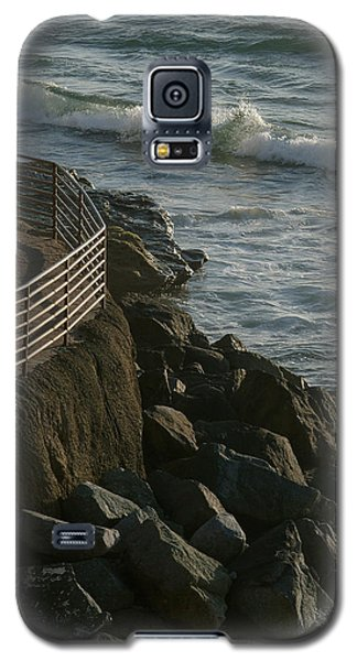 Ocean Beach Boat Ramp Galaxy S5 Case