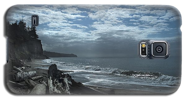 Ocean Beach Pacific Northwest Galaxy S5 Case