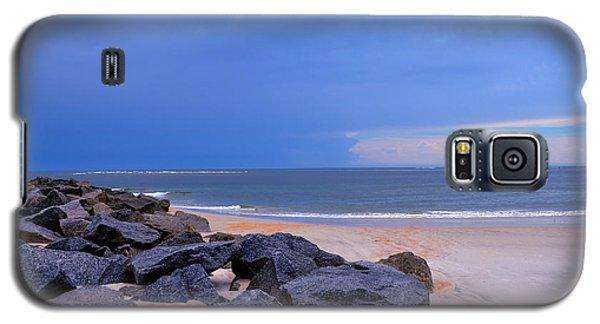 Ocean Beach Rocks Galaxy S5 Case