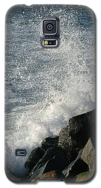 Ocean Beach Splash 1 Galaxy S5 Case