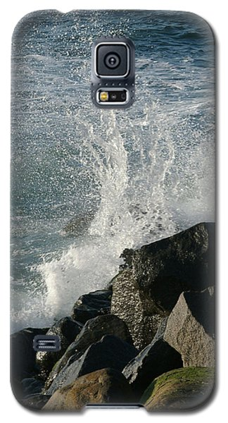 Ocean Beach Splash 2 Galaxy S5 Case