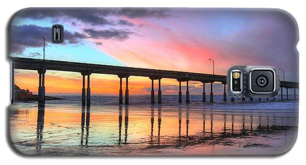 Galaxy S5 Case featuring the photograph Ocean Beach Sunset by Nathan Rupert