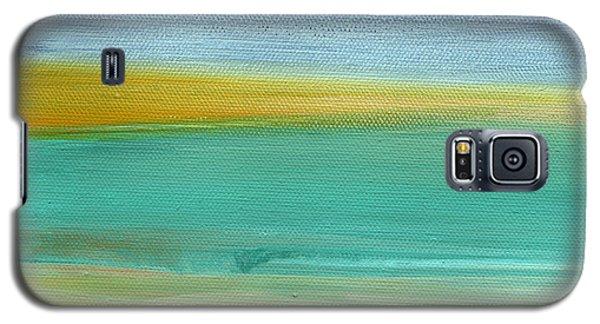 Ocean Blue 3- Art By Linda Woods Galaxy S5 Case by Linda Woods